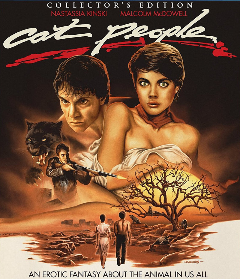 CAT PEOPLE (COLLECTOR'S EDITION) BLU-RAY