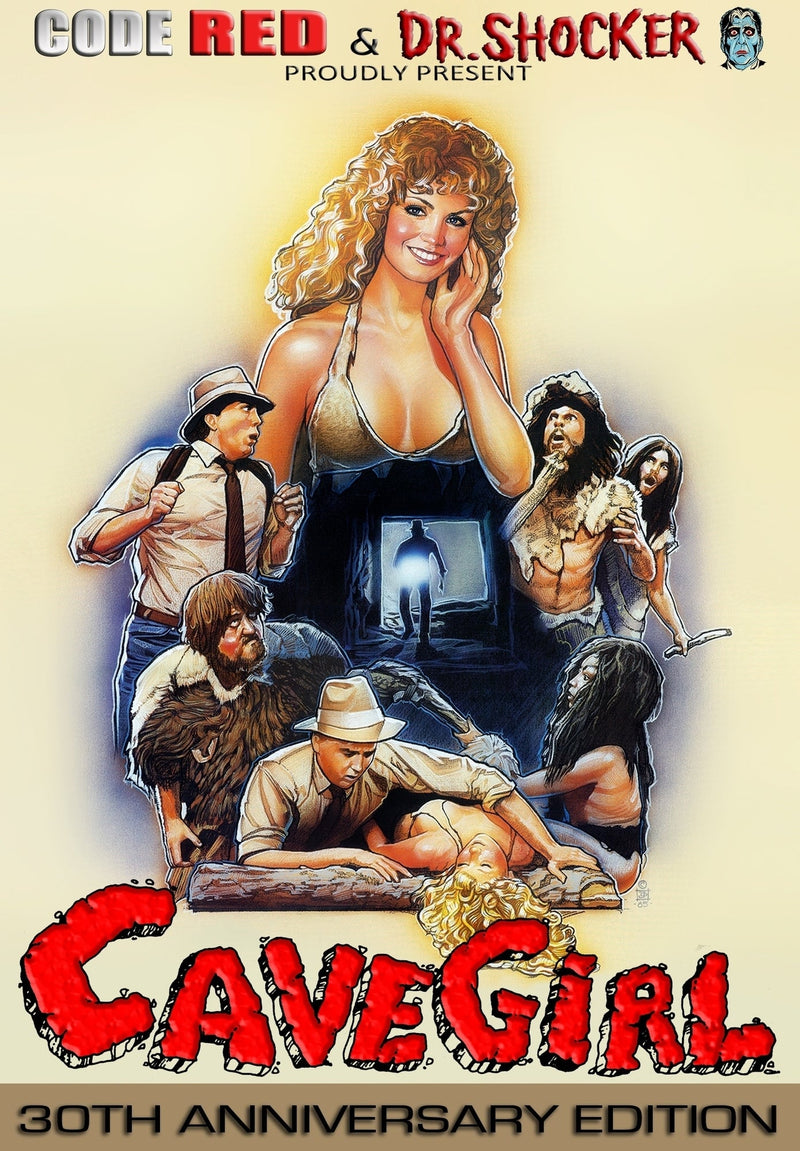 CAVEGIRL (30TH ANNIVERSARY EDITION) DVD