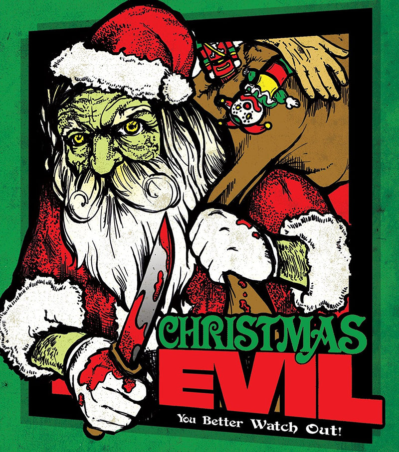 CHRISTMAS EVIL BLU-RAY/DVD
