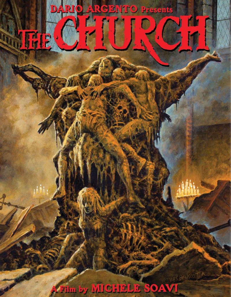 THE CHURCH (LIMITED EDITION) BLU-RAY
