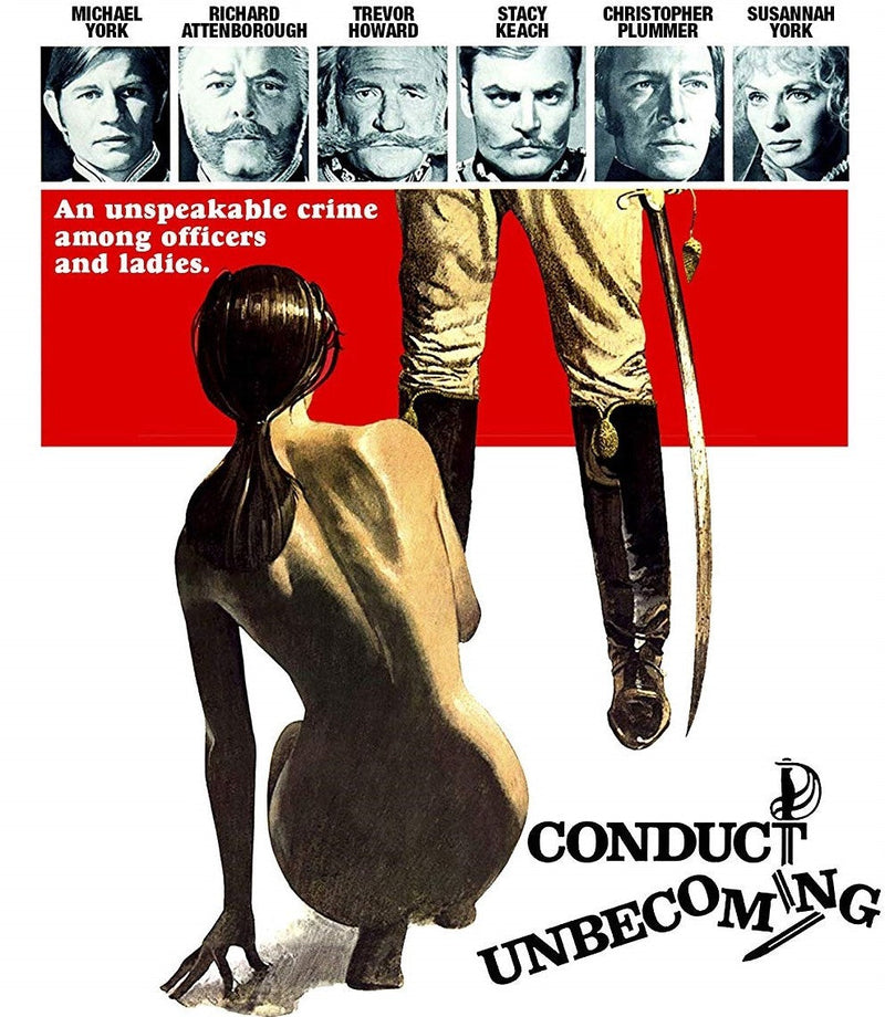 CONDUCT UNBECOMING BLU-RAY