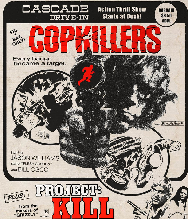 COPKILLERS / PROJECT: KILL BLU-RAY