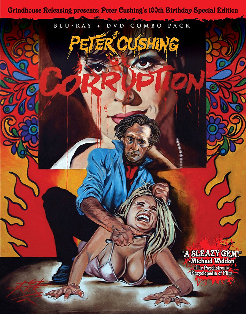 CORRUPTION (1967) BLU-RAY/DVD
