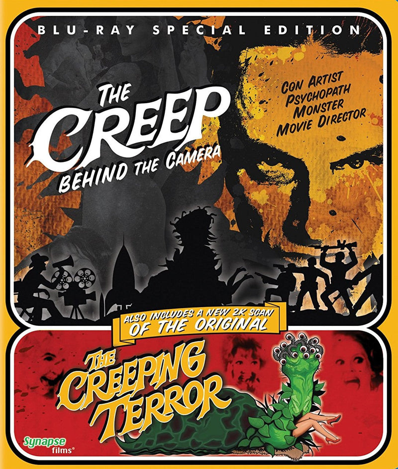 THE CREEP BEHIND THE CAMERA / THE CREEPING TERROR BLU-RAY