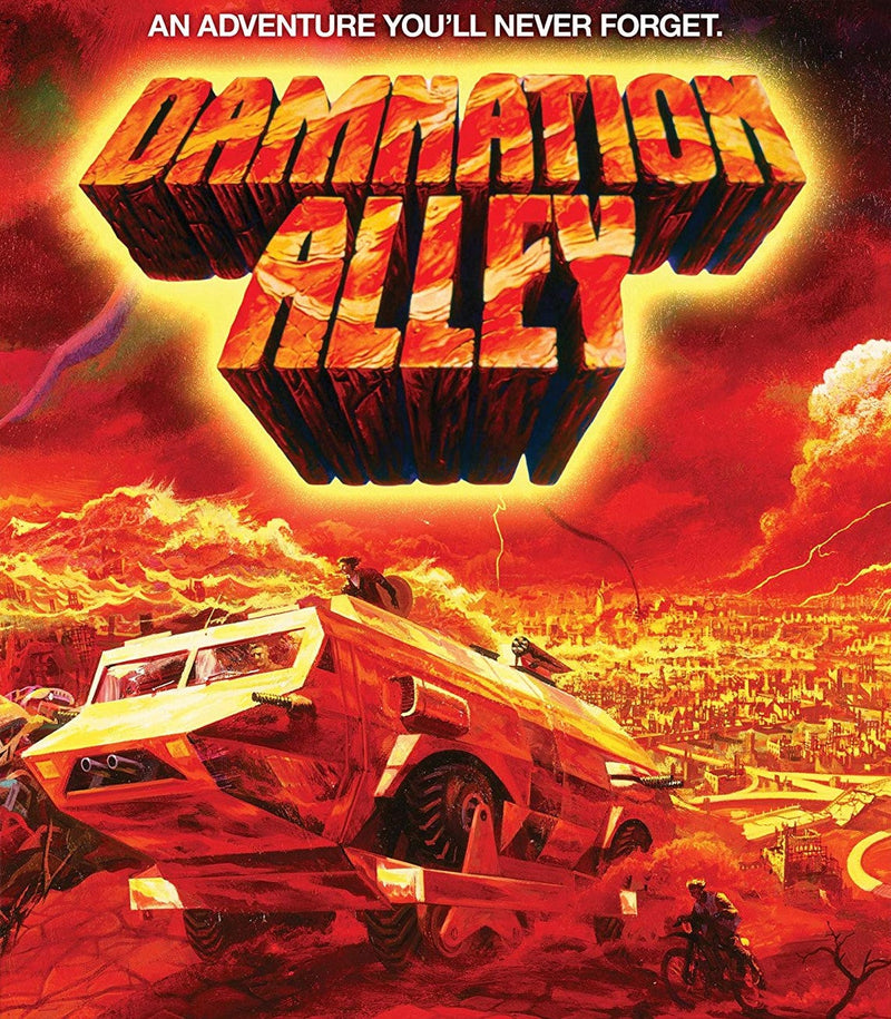 DAMNATION ALLEY BLU-RAY