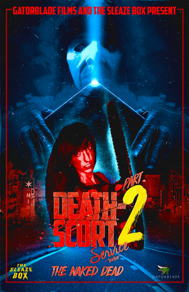 DEATH-SCORT SERVICE 2: THE NAKED DEAD DVD