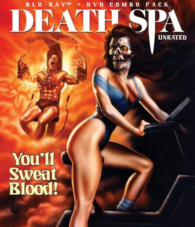 DEATH SPA BLU-RAY/DVD