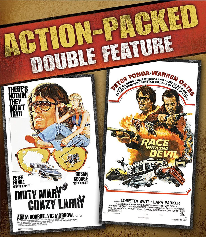 DIRTY MARY CRAZY LARRY / RACE WITH THE DEVIL BLU-RAY