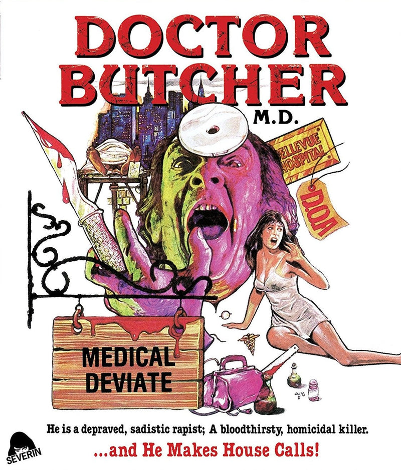 DOCTOR BUTCHER MD / ZOMBIE HOLOCAUST BLU-RAY