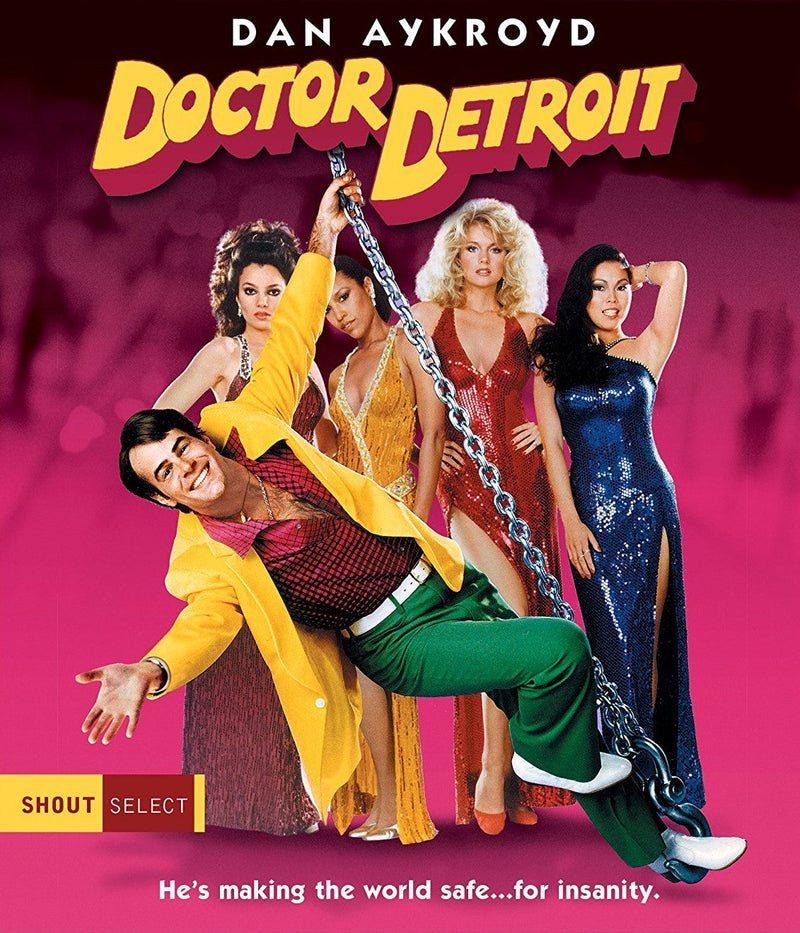 DOCTOR DETROIT BLU-RAY