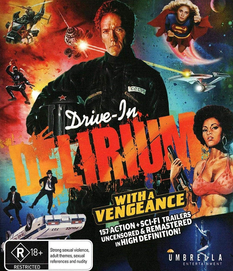 DRIVE IN DELIRIUM: WITH A VENGEANCE BLU-RAY