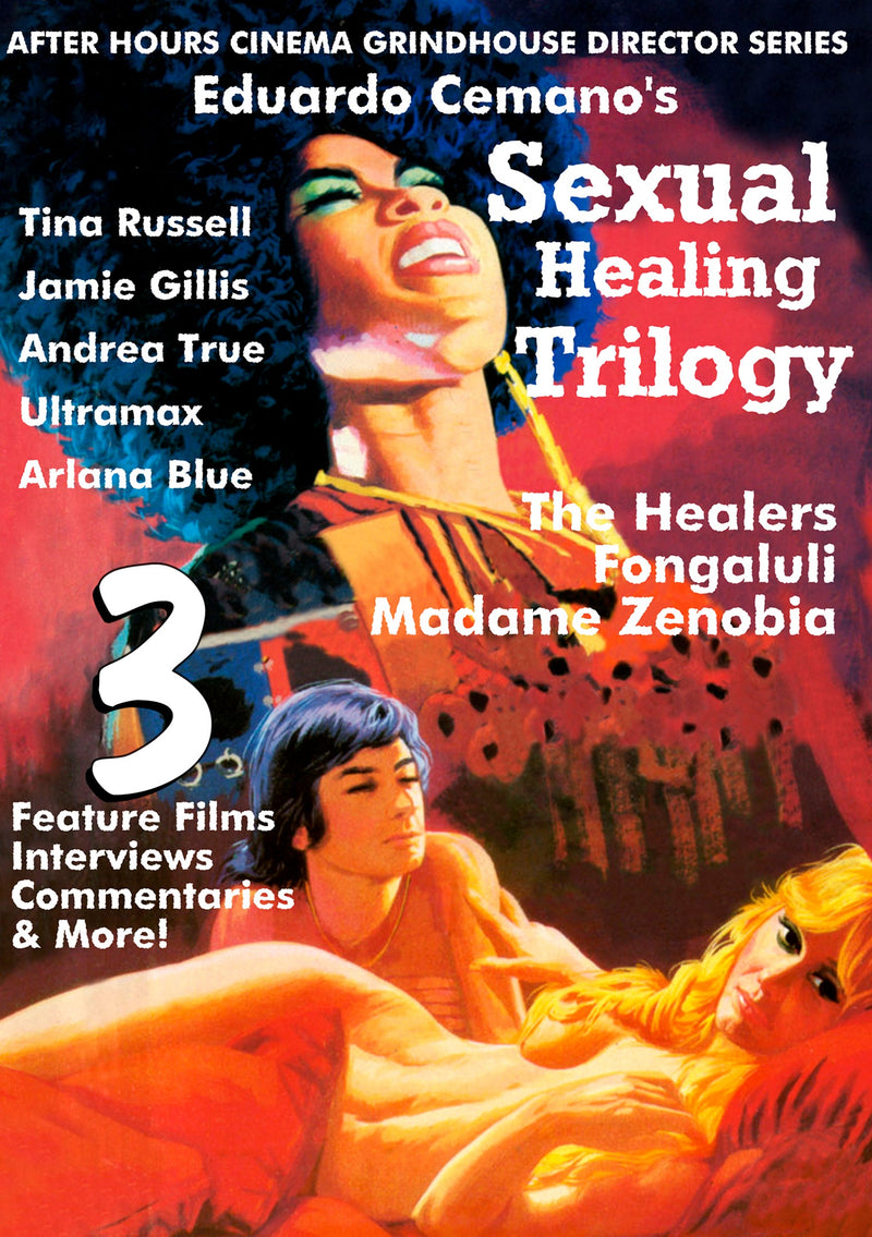 EDUARDO CEMANO'S SEXUAL HEALING TRILOGY DVD