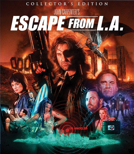 ESCAPE FROM LA (COLLECTOR'S EDITION) BLU-RAY
