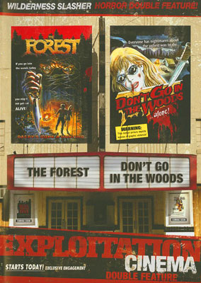 THE FOREST / DON'T GO IN THE WOODS DVD