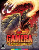GAMERA: THE COMPLETE COLLECTION (LIMITED EDITION) BLU-RAY