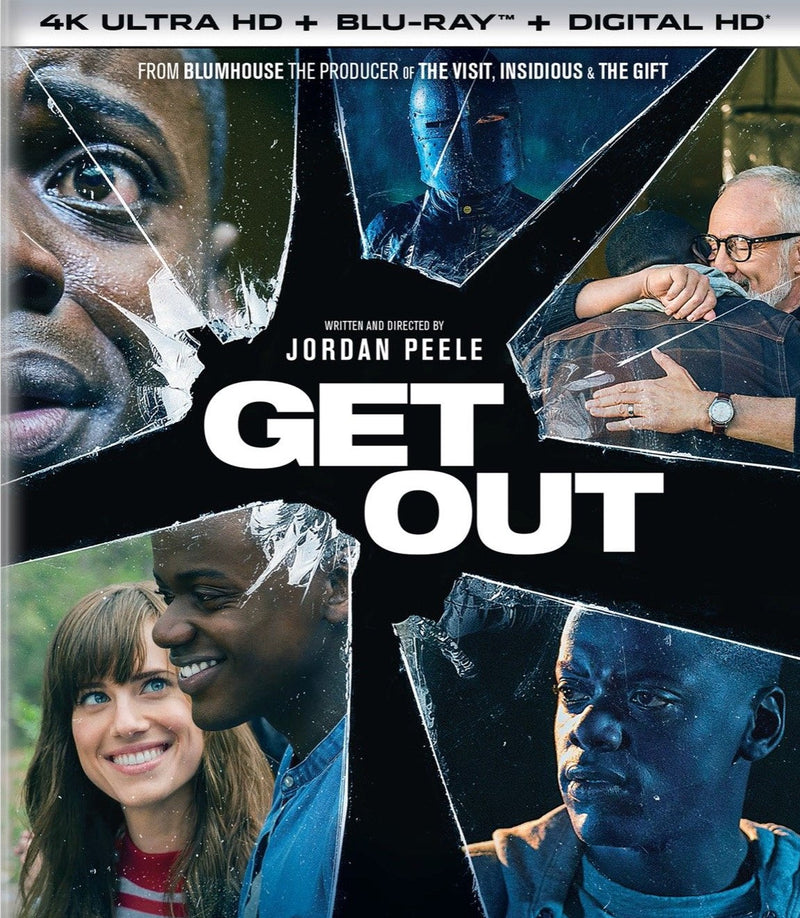 GET OUT 4K ULTRA HD/BLU-RAY