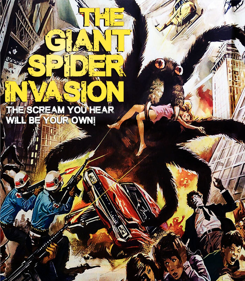 THE GIANT SPIDER INVASION BLU-RAY