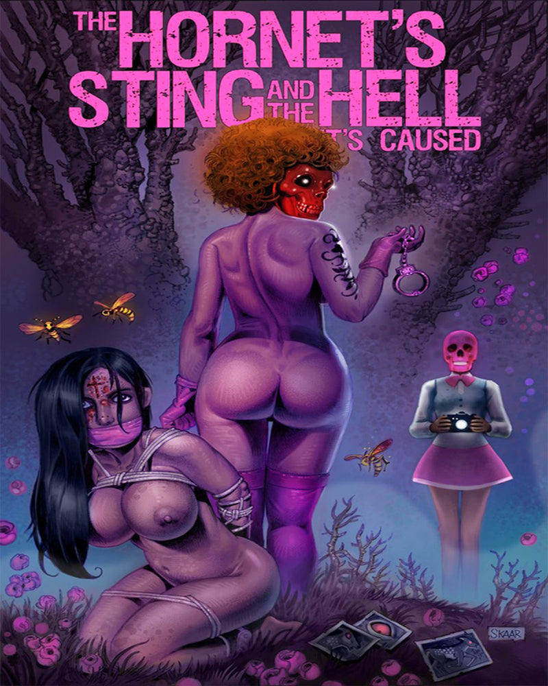 THE HORNET'S STING AND THE HELL IT'S CAUSED BLU-RAY