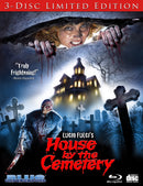 THE HOUSE BY THE CEMETERY (3-DISC LIMITED EDITION) BLU-RAY/CD