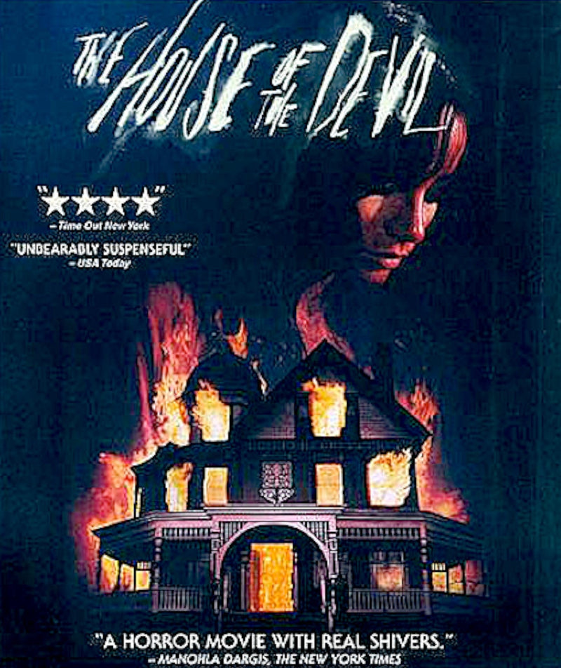 THE HOUSE OF THE DEVIL BLU-RAY