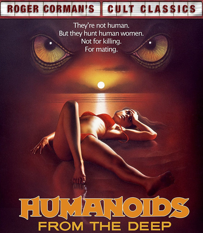 HUMANOIDS FROM THE DEEP BLU-RAY