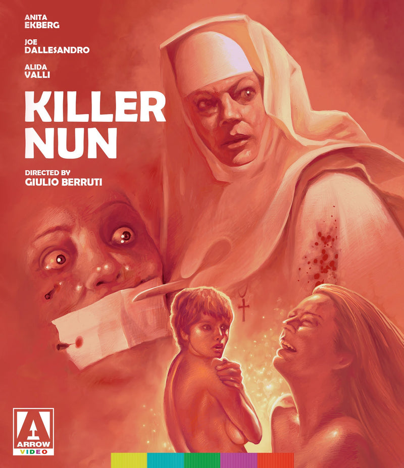 KILLER NUN (ARROW VIDEO) BLU-RAY