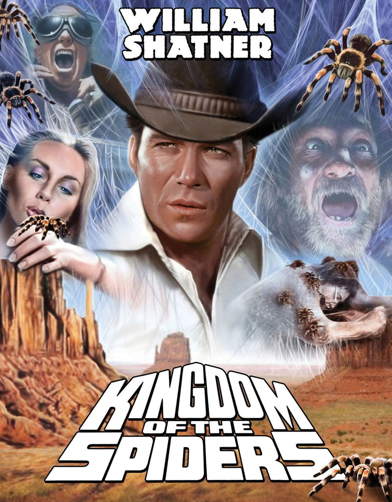 KINGDOM OF THE SPIDERS (LIMITED EDITION) BLU-RAY