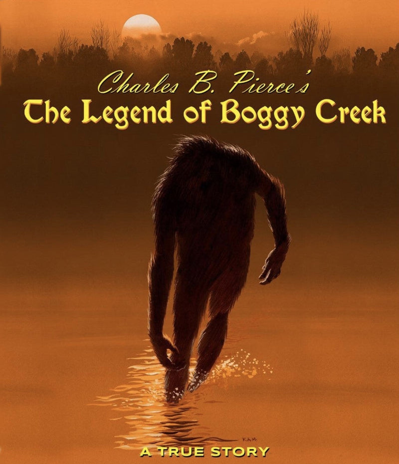 THE LEGEND OF BOGGY CREEK BLU-RAY