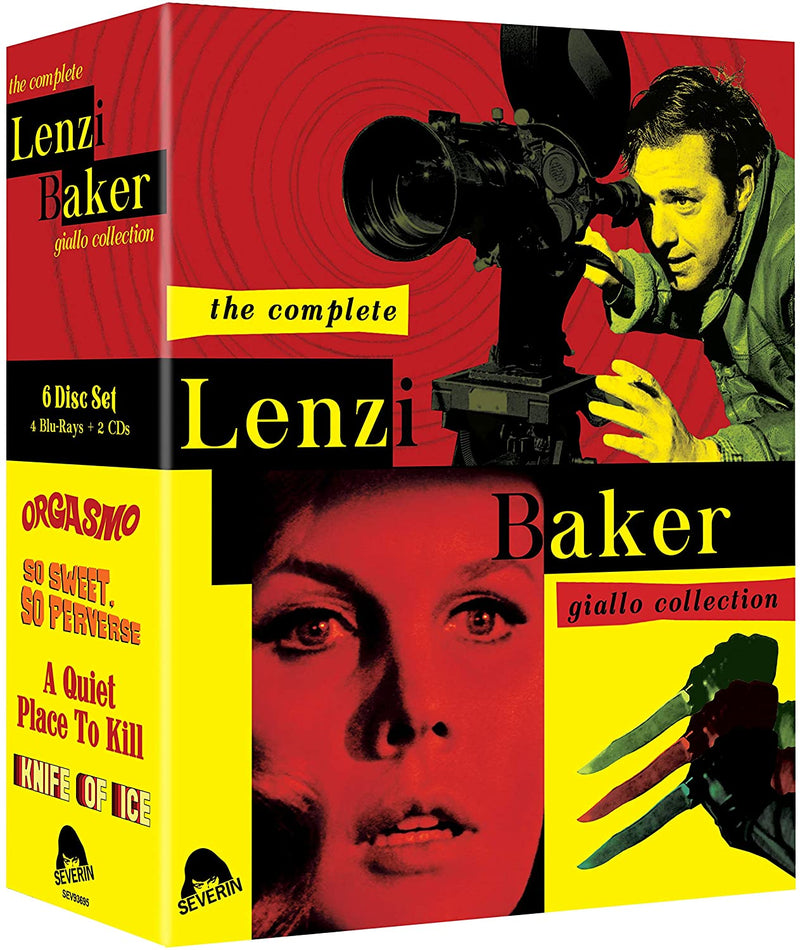 THE COMPLETE LENZI/BAKER GIALLO COLLECTION (LIMITED EDITION) BLU-RAY/CD