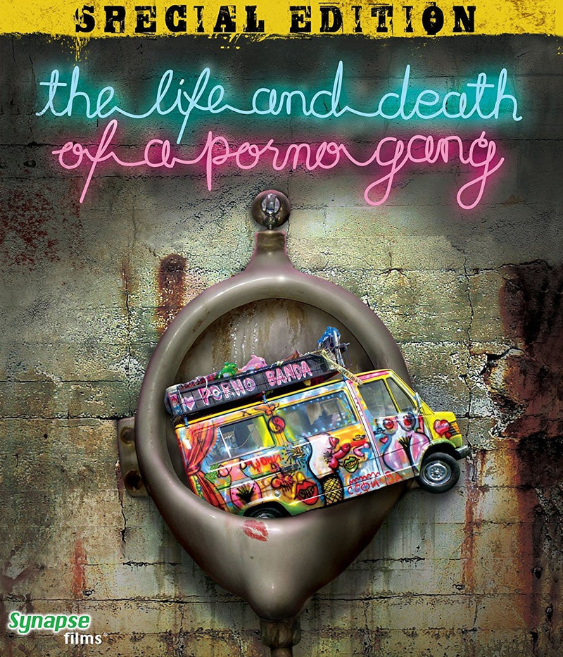 THE LIFE AND DEATH OF A PORNO GANG BLU-RAY