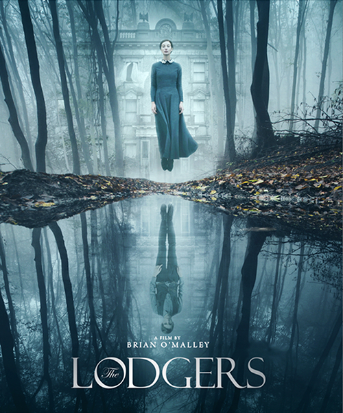 THE LODGERS BLU-RAY/DVD
