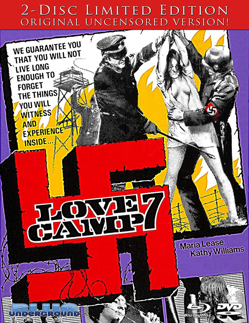 LOVE CAMP 7 (2-DISC LIMITED EDITION) BLU-RAY/DVD