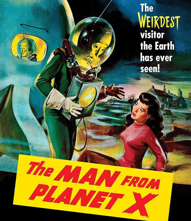 THE MAN FROM PLANET X BLU-RAY