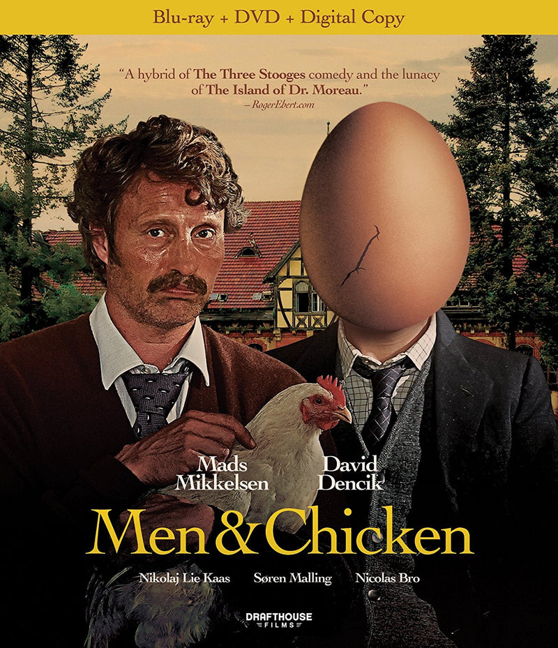 MEN AND CHICKEN BLU-RAY/DVD