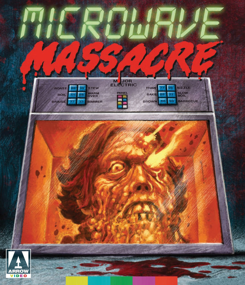 MICROWAVE MASSACRE BLU-RAY/DVD
