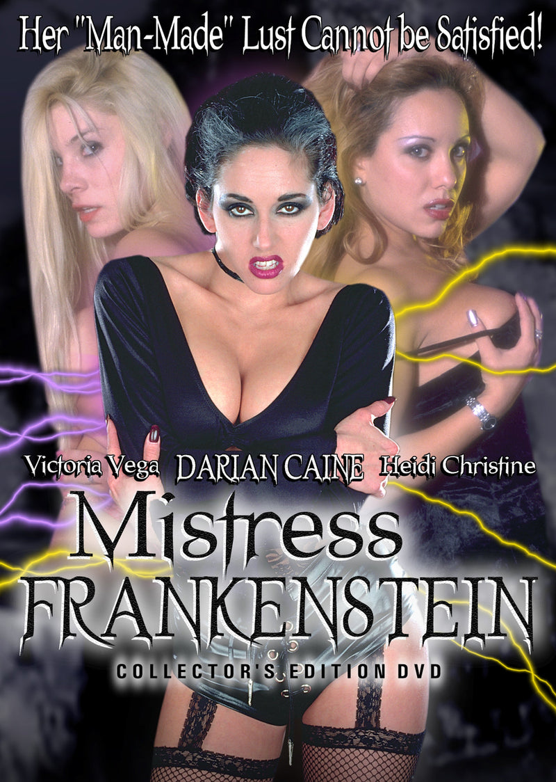 MISTRESS FRANKENSTEIN DVD