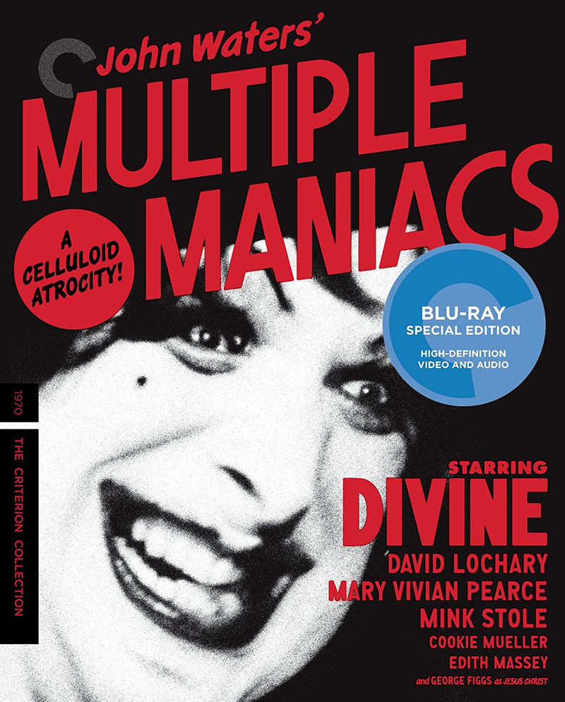 MULTIPLE MANIACS BLU-RAY