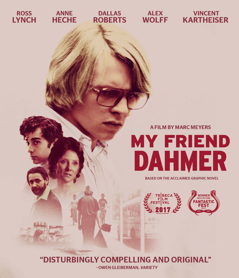 MY FRIEND DAHMER BLU-RAY