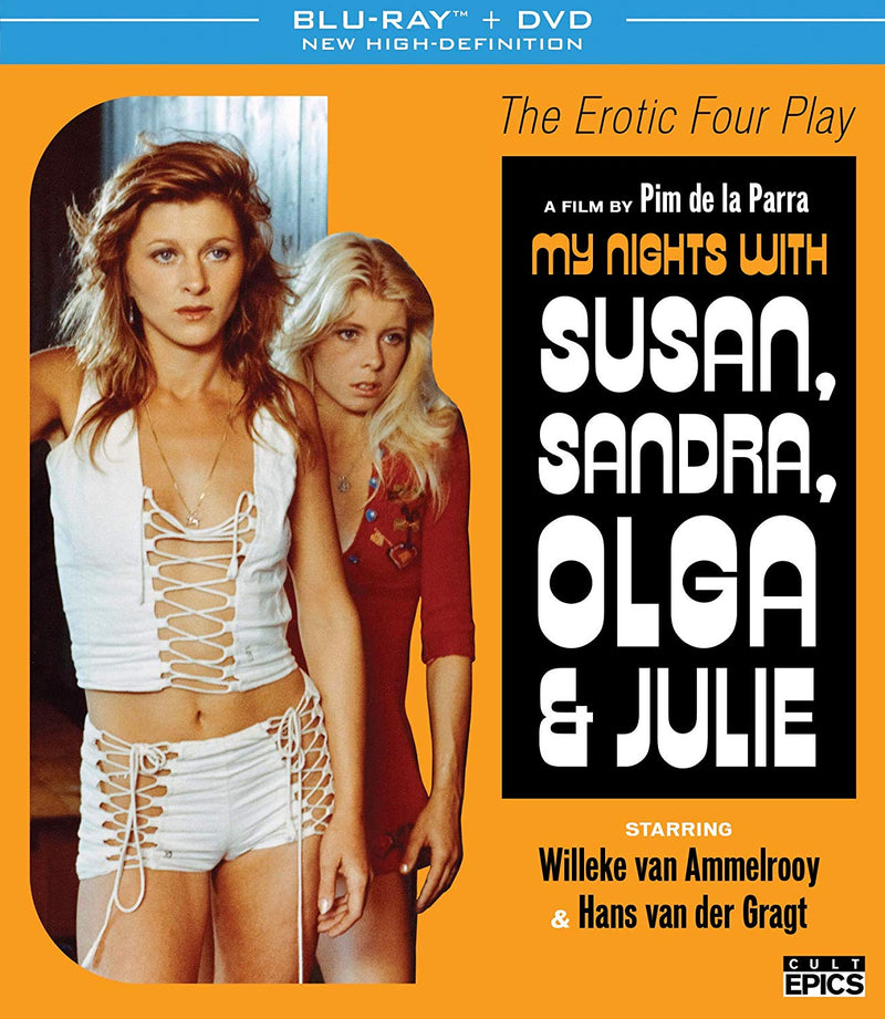 MY NIGHTS WITH SUSAN, SANDRA, OLGA AND JULIE BLU-RAY/DVD