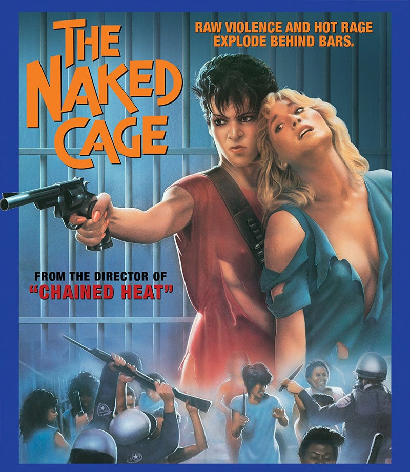 THE NAKED CAGE BLU-RAY
