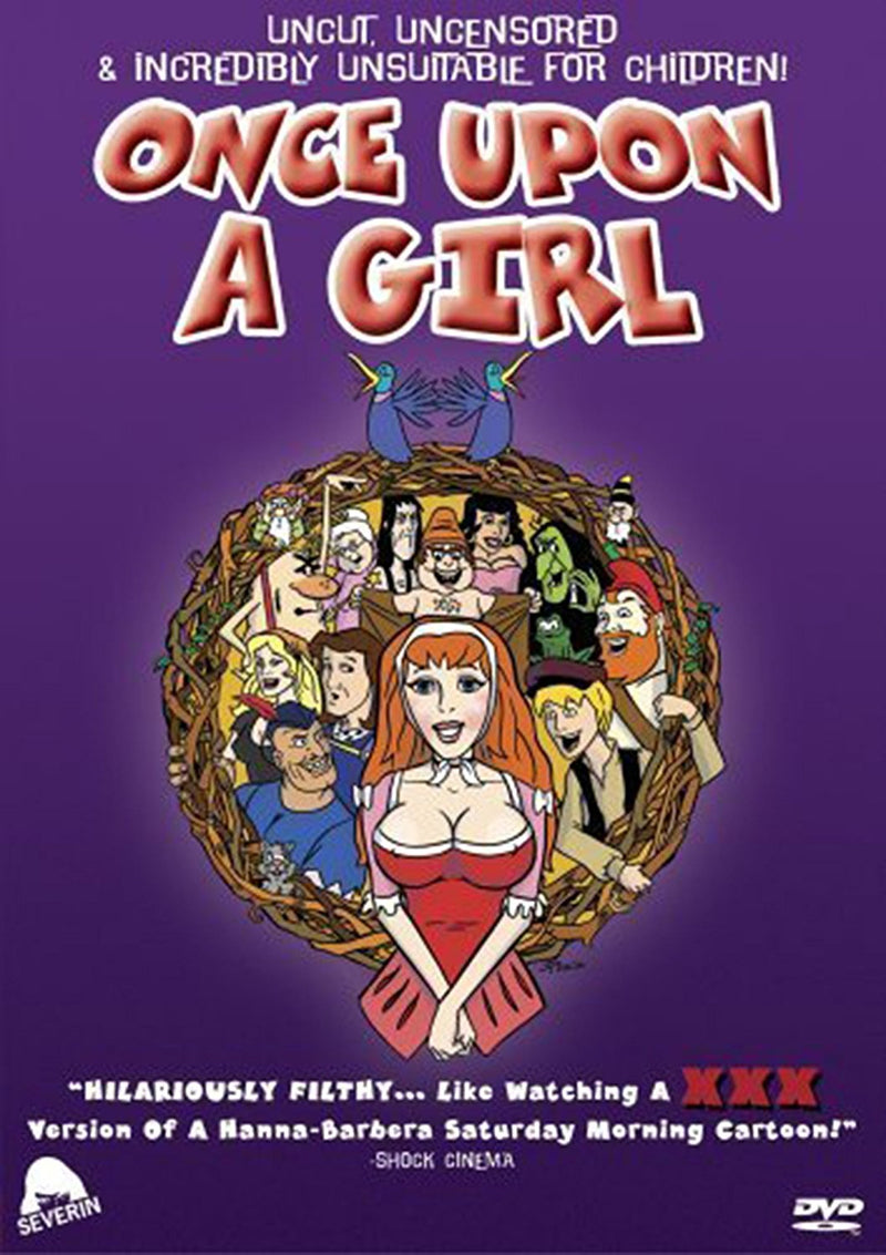 ONCE UPON A GIRL DVD