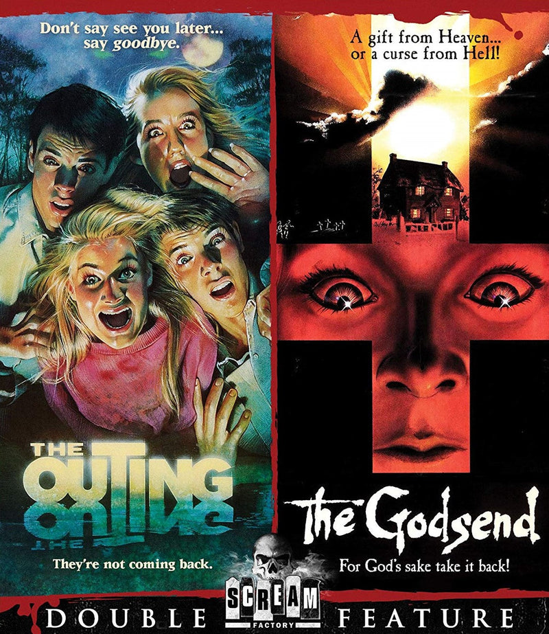 THE OUTING / THE GODSEND BLU-RAY