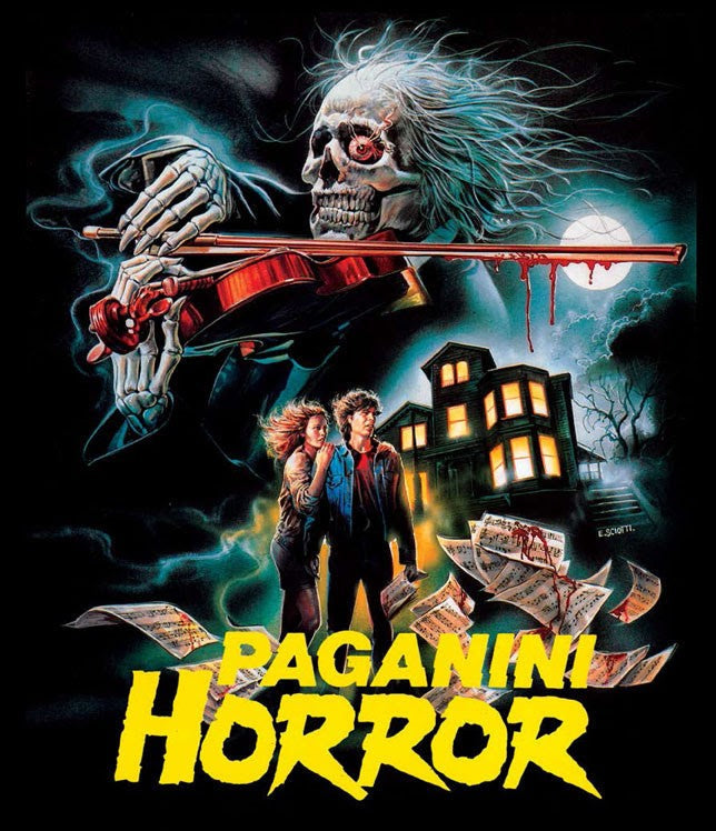 PAGANINI HORROR (LIMITED EDITION) BLU-RAY/CD