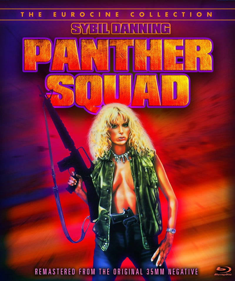 PANTHER SQUAD BLU-RAY