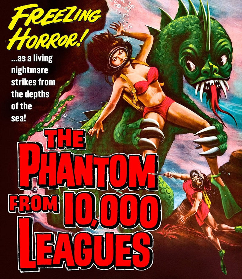 THE PHANTOM FROM 10,000 LEAGUES BLU-RAY