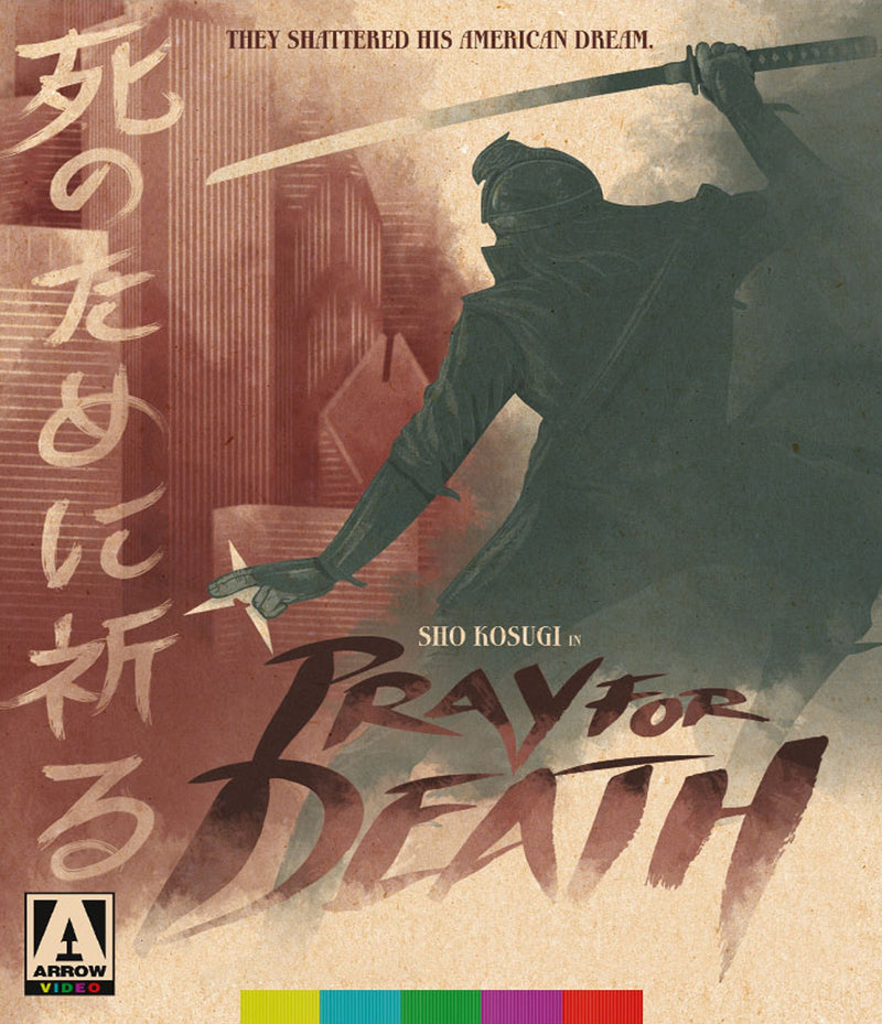 PRAY FOR DEATH BLU-RAY