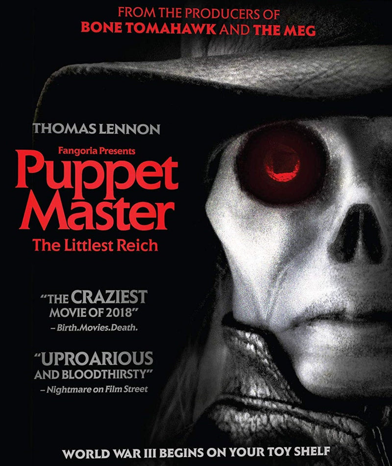 PUPPET MASTER: THE LITTLEST REICH BLU-RAY