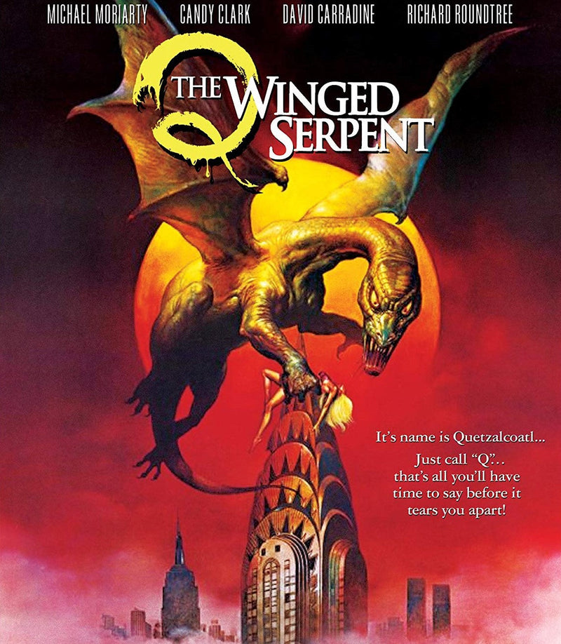 Q: THE WINGED SERPENT BLU-RAY