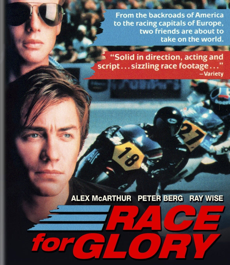 RACE FOR GLORY BLU-RAY