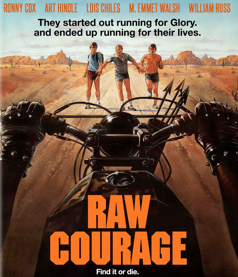 RAW COURAGE BLU-RAY